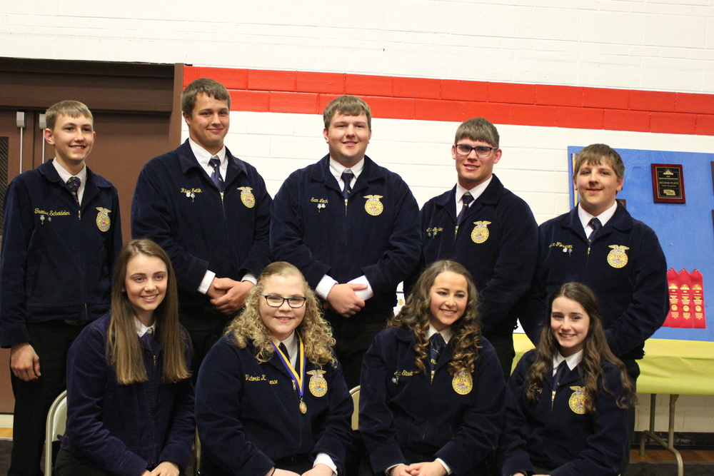 FFA Banquet, Officers Elected