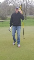 Ries Hits Hole In One