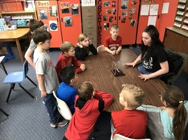 HS Students Teach Physics At Elem.